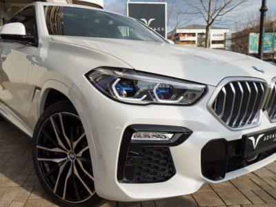 BMW X6 40d M-Sport White Met.